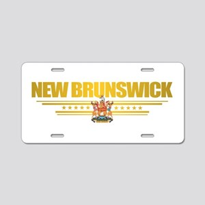 New Brunswick COA Aluminum License Plate