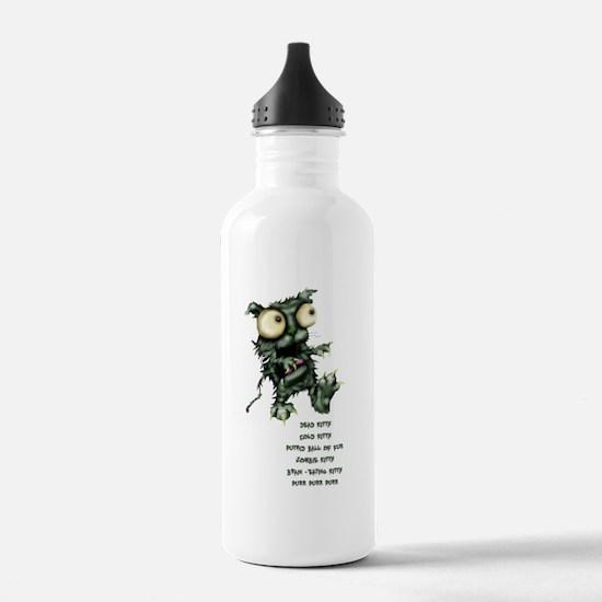zombie kitty Water Bottle