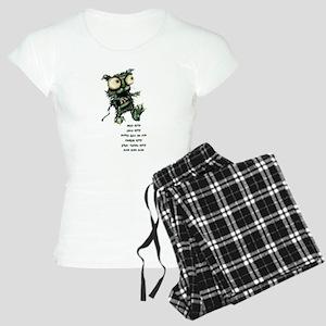 zombie kitty pajamas
