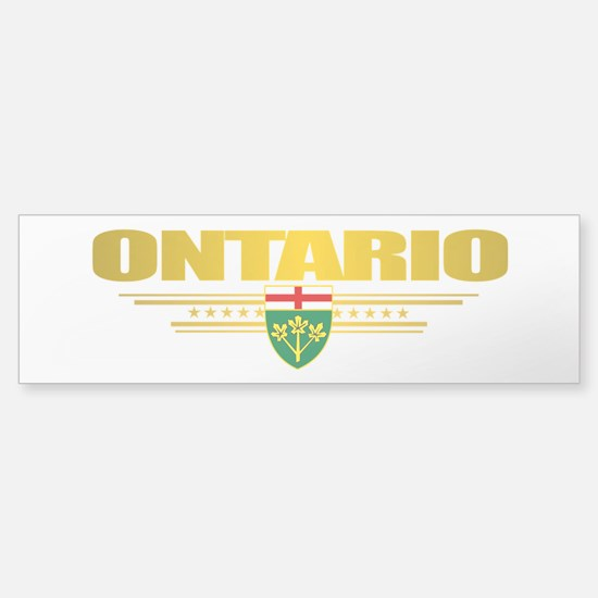 Ontario Pride Bumper Bumper Bumper Sticker