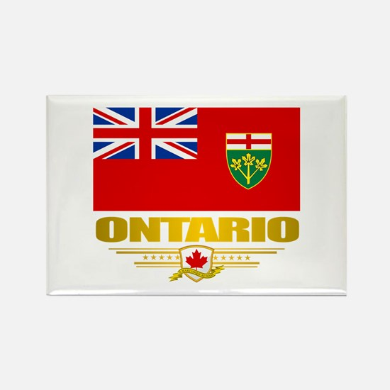 Ontario Pride Rectangle Magnet