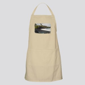 Black sand beach Apron