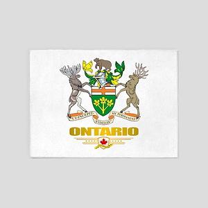 Ontario COA 5'x7'Area Rug