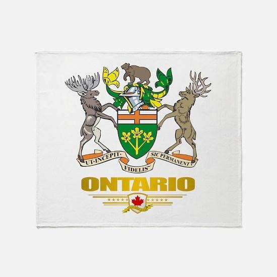 Ontario COA Throw Blanket
