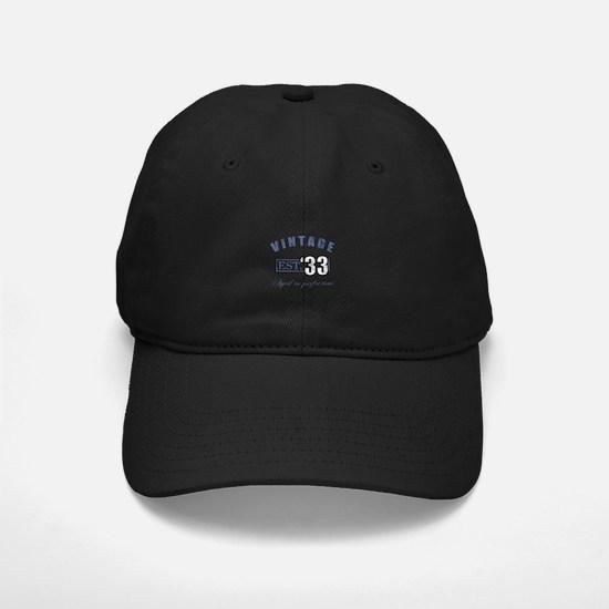 1933 Vintage Est. Baseball Hat