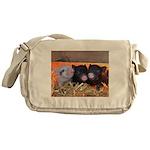 Three Little Piggies Messenger Bag