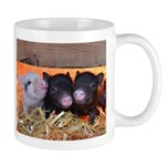 Three Little Piggies Small Mug