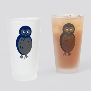 Baby Owl Drinking Glass