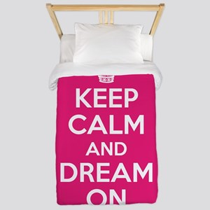 Keep Calm and Dream On Twin Duvet