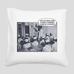 Nursing Class Doohicky Square Canvas Pillow