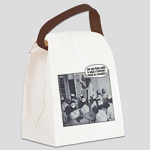 Nursing Class Doohicky Canvas Lunch Bag