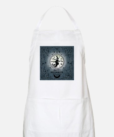 Modern Vintage Halloween Witching Hour Apron