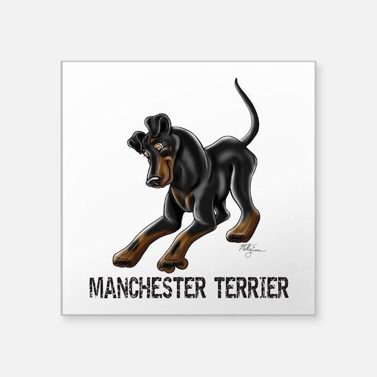 Manchester Terrier - Button Ears Sticker