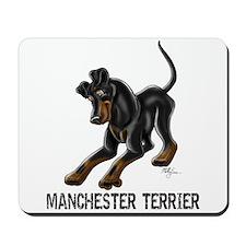 Manchester Terrier - Button Ears Mousepad