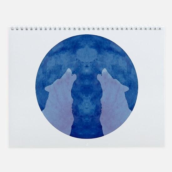 Wolf Wisdom Wall Calendar