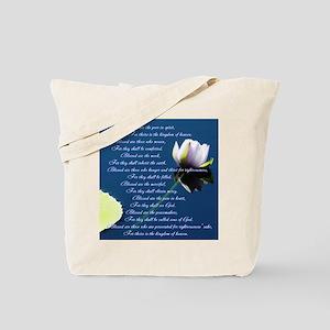 The Beatitudes Tote Bag