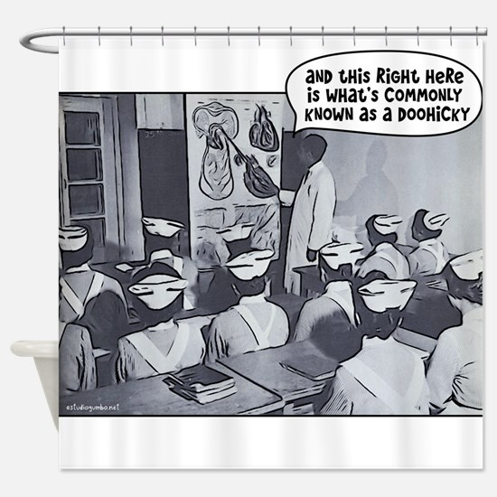 Nursing Class Instructor Doohicky Shower Curtain