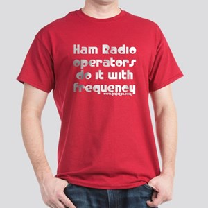 Ham Radio Ops Do It Dark T-Shirt