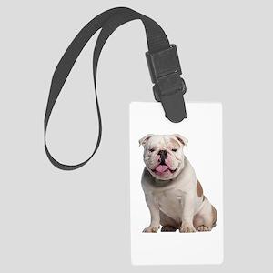 Bulldog Large Luggage Tag