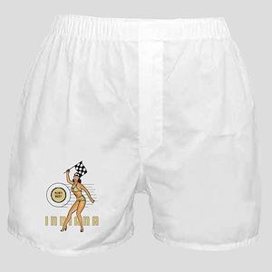Vintage Indiana Pinup Boxer Shorts