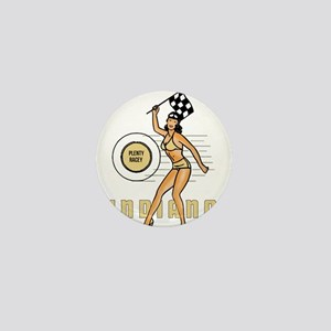 Vintage Indiana Pinup Mini Button