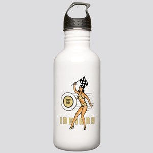 Vintage Indiana Pinup Water Bottle