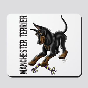 Manchester Terrier - Cropped Mousepad