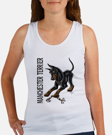 Manchester Terrier - Cropped Tank Top