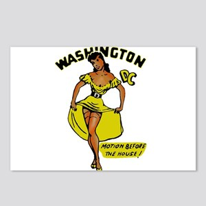 Vintage DC Pinup Postcards (Package of 8)