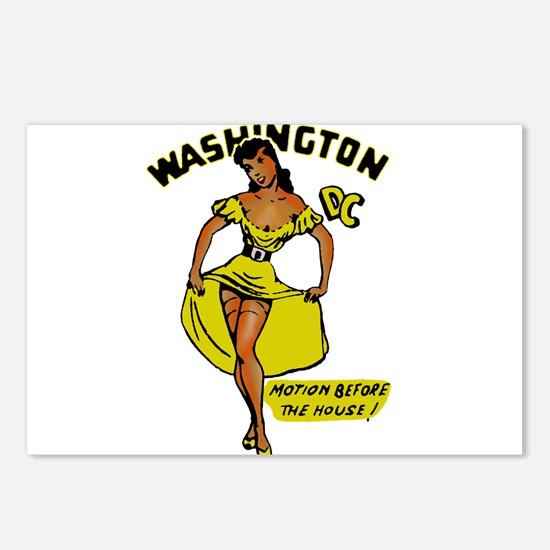 Vintage DC Pinup Postcards (Package of 8)