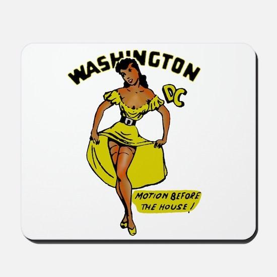 Vintage DC Pinup Mousepad