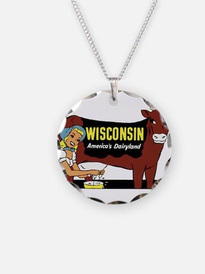 Vintage Wisconsin Dairyland Necklace