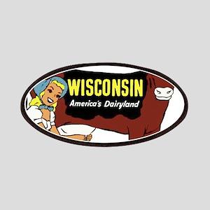Vintage Wisconsin Dairyland Patches