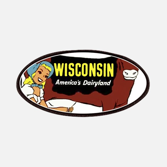 Vintage Wisconsin Dairyland Patches