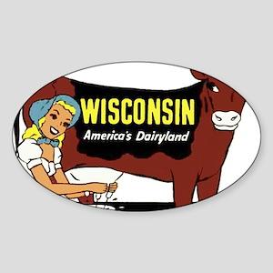 Vintage Wisconsin Dairyland Sticker