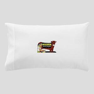 Vintage Wisconsin Dairyland Pillow Case