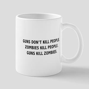 Guns Kill Zombies Mug