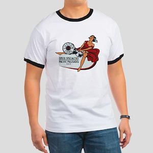 Vintage Custom Cam Pinup T-Shirt