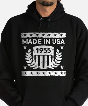 Made In USA 1955 Hoodie (dark)