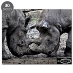 Rhino Lovers Puzzle