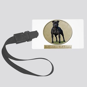 Staffordshire Bull Terrier Large Luggage Tag