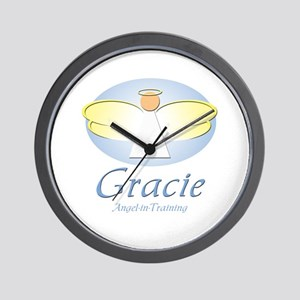 Angel-in-Training - Gracie Wall Clock