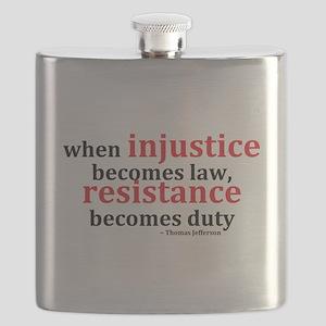 Injustice Resistance Flask