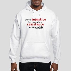 Injustice Resistance Hoodie