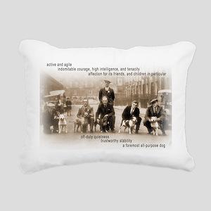 Vintage Crufts Staffordshire Bull Terrier Rectangu
