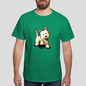 Playful Cairn Terrier Dark T-Shirt