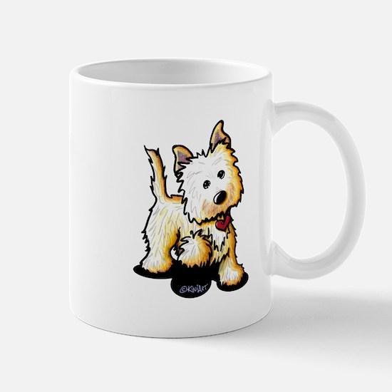 Playful Cairn Terrier Mug