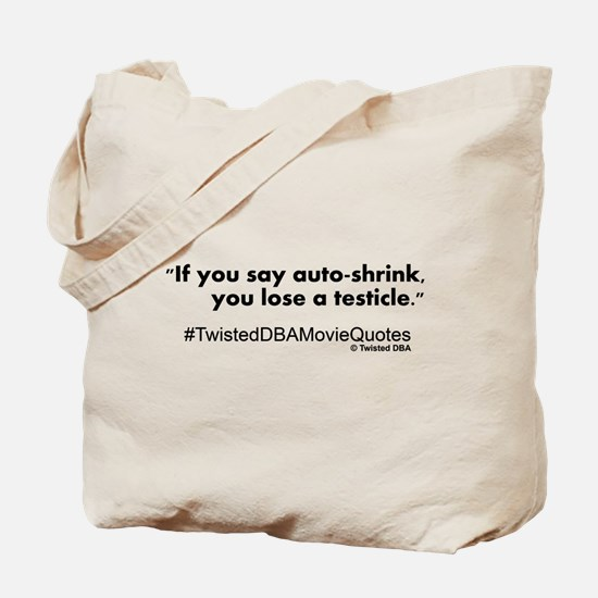 autoshrink.png Tote Bag