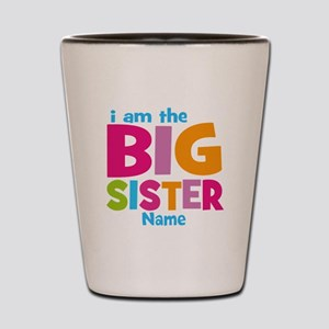Big Sister Personalized Shot Glass