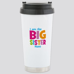 Big Sister Personalized Stainless Steel Travel Mug